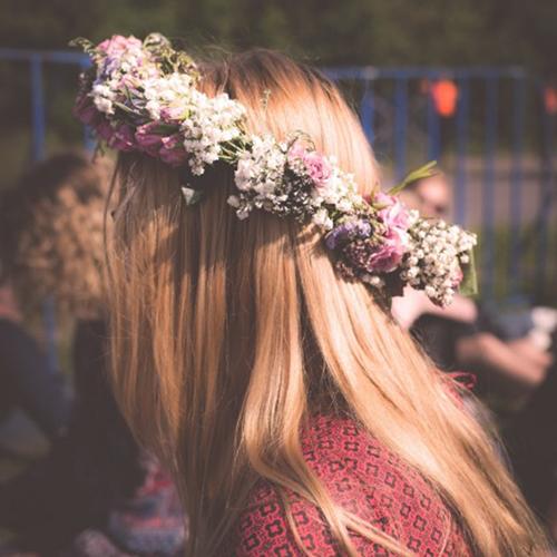 Bastel dir deine eigene Flower Crown