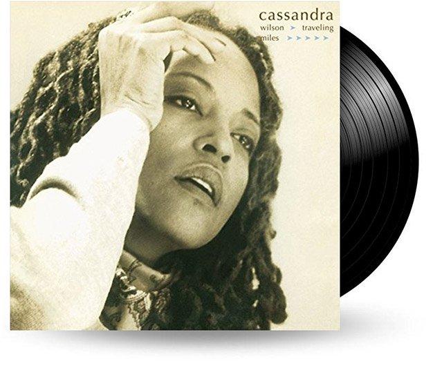 Cover - Cassandra Wilson: Traveling Miles