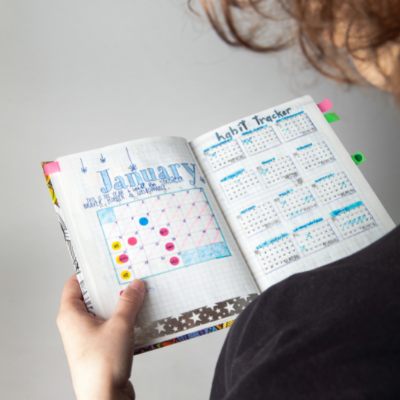 Bullet Journal kann auch als Kalender funktionieren.