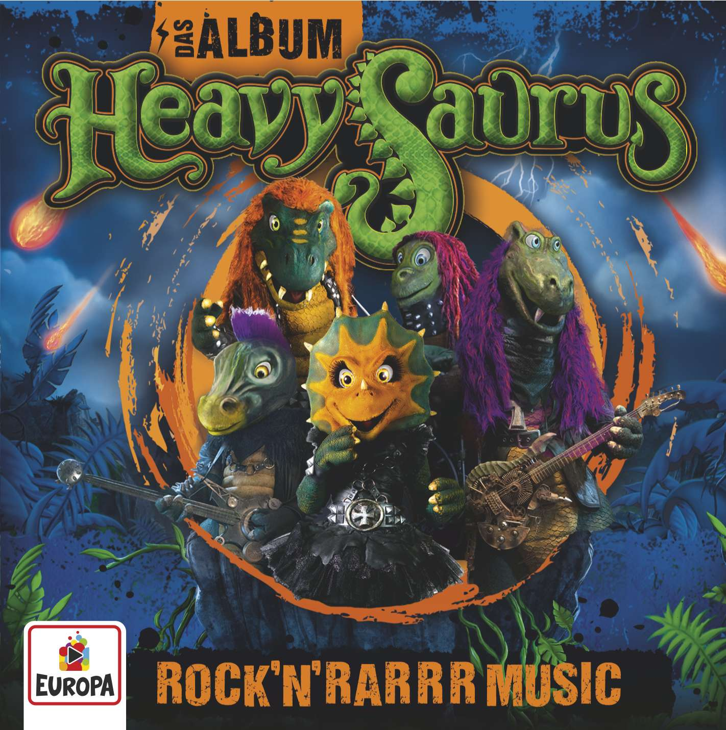 Heavysaurus: Das Album - Rock'n'Rarrr Music