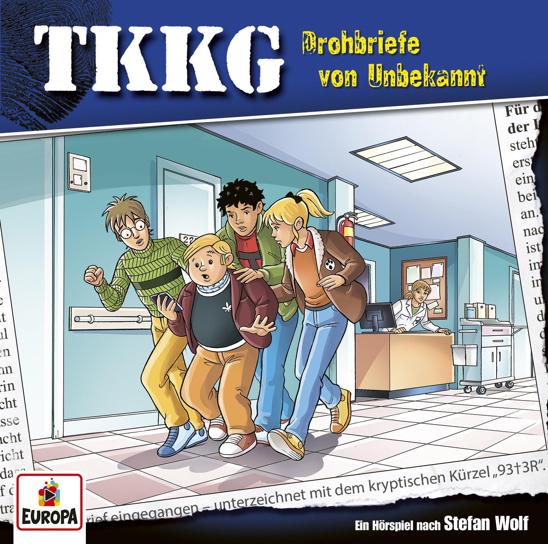 TKKG - 209: Drohbriefe Von Unbekannt   Physical CD Audio Drama