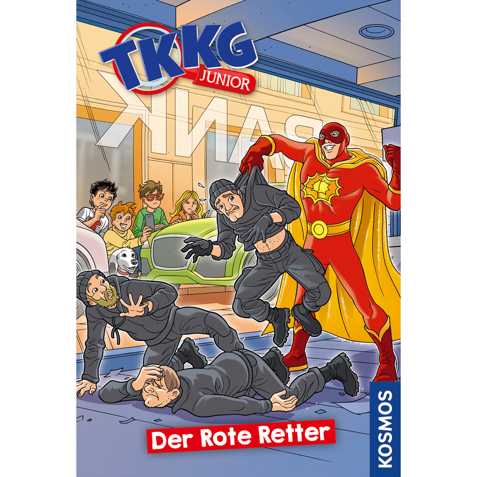 TKKG Junior - TKKG Junior - Der Rote Retter
