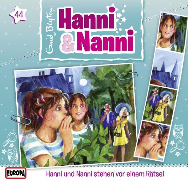 hanni und nanni  hanni  nanni stehen vor einem rätsel