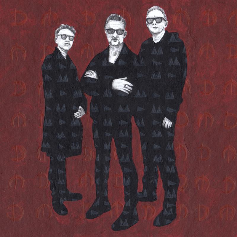 Depeche Mode (gemalt)