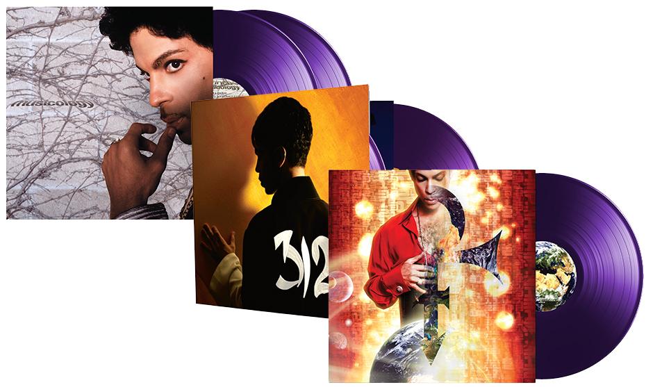 Prince auf purple Vinyl (Packshots)