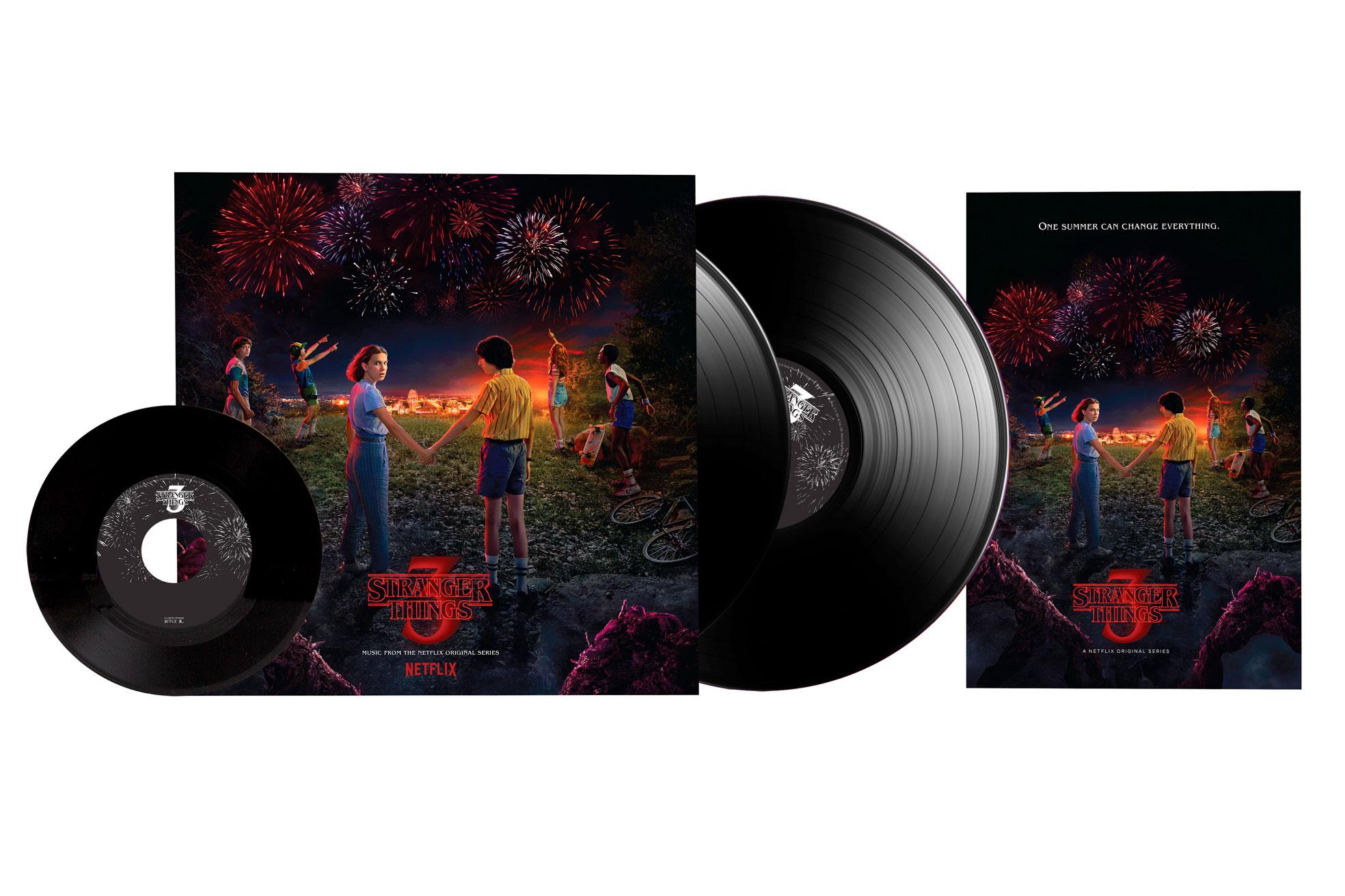 Stranger Things Vinyl Ausgabe
