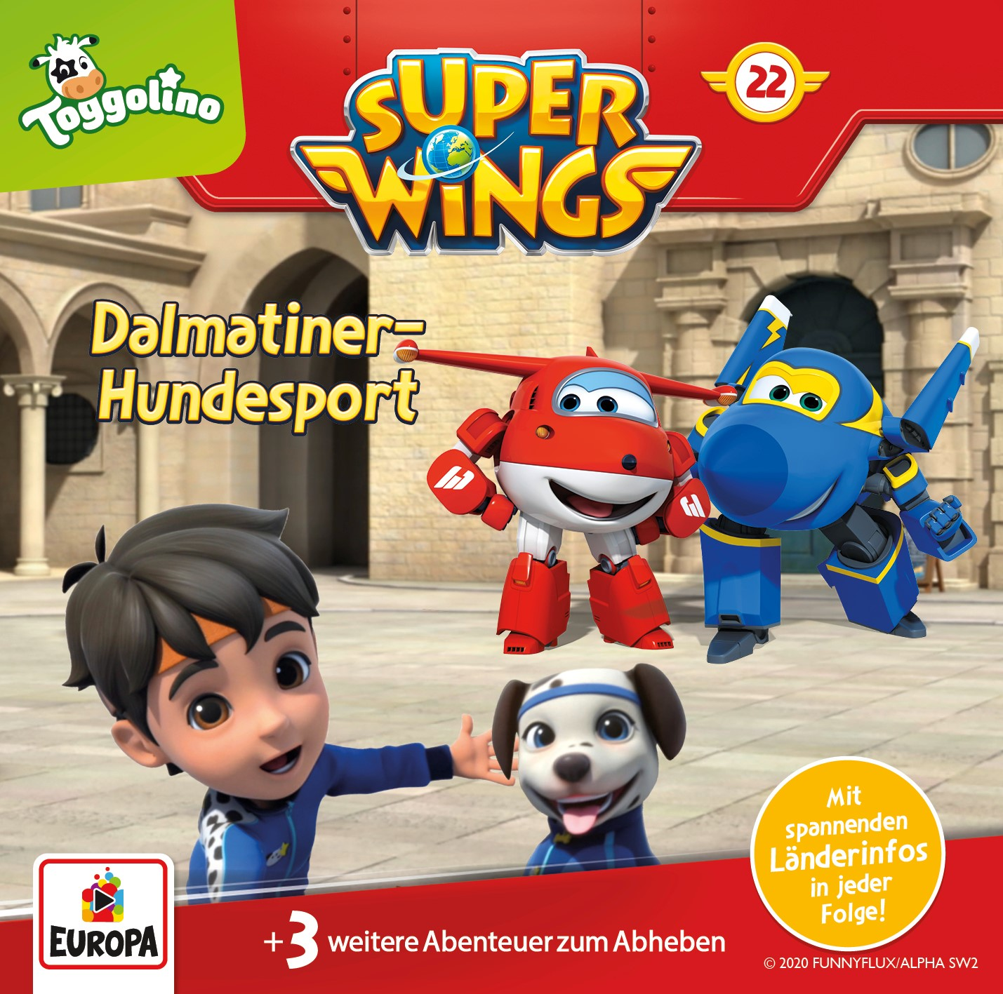 Super Wings: Dalmatiner-Hundesport