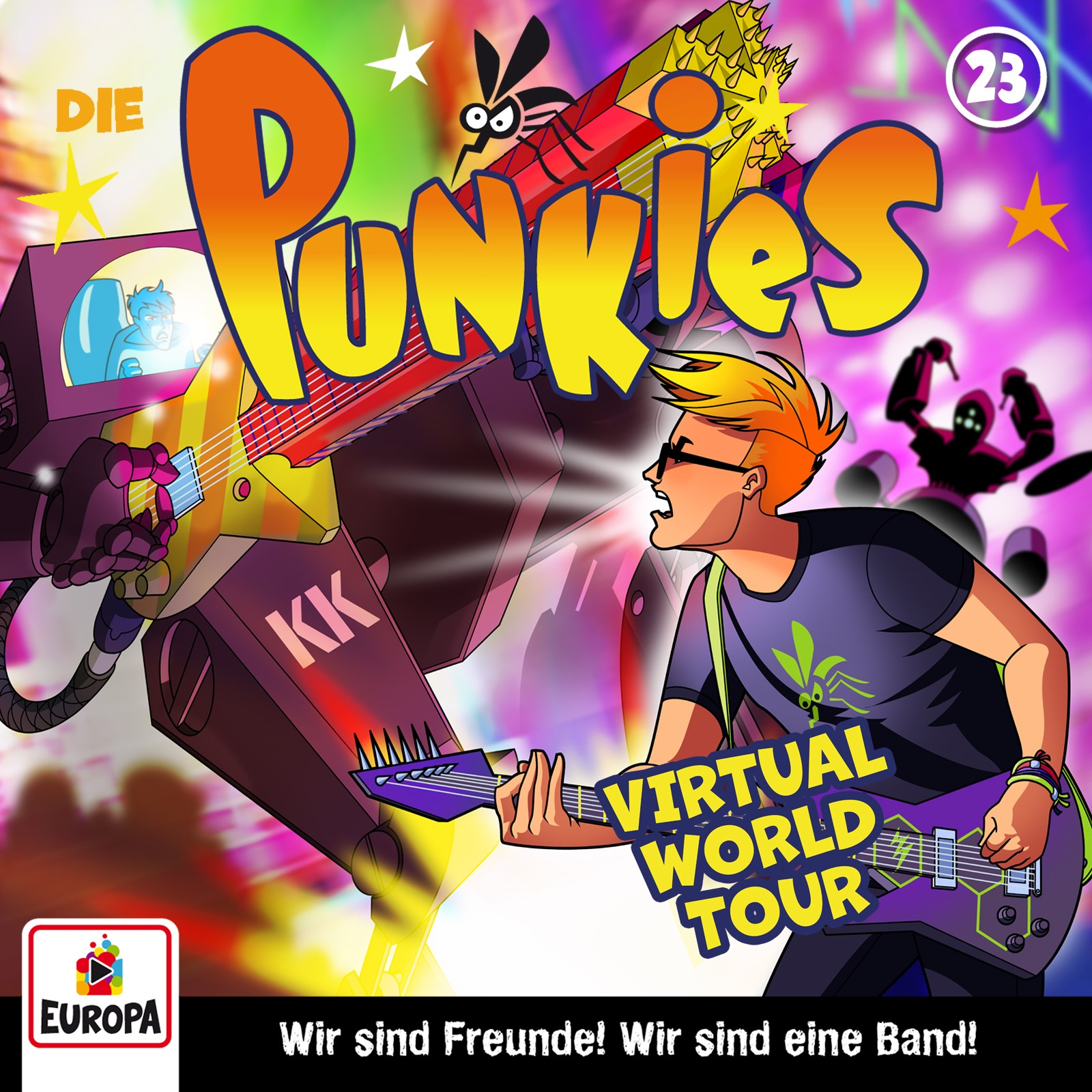 Die Punkies : Virtual World Tour!