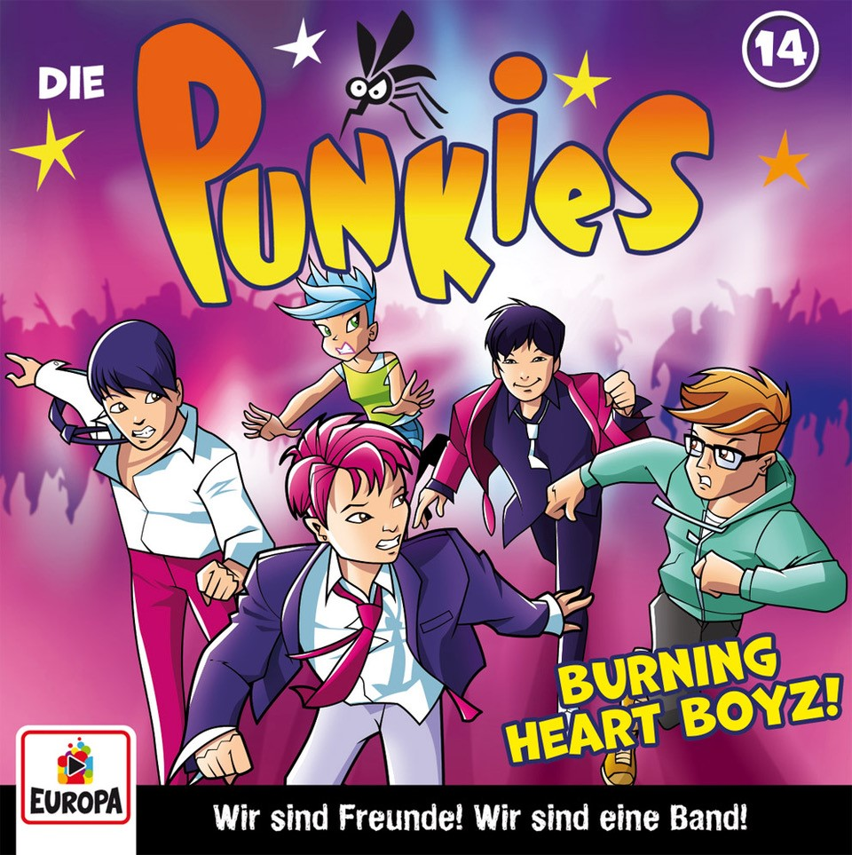 Die Punkies : Burning Heart Boyz