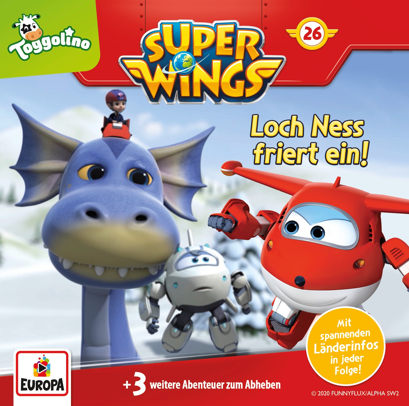Super Wings: Loch Ness friert ein!