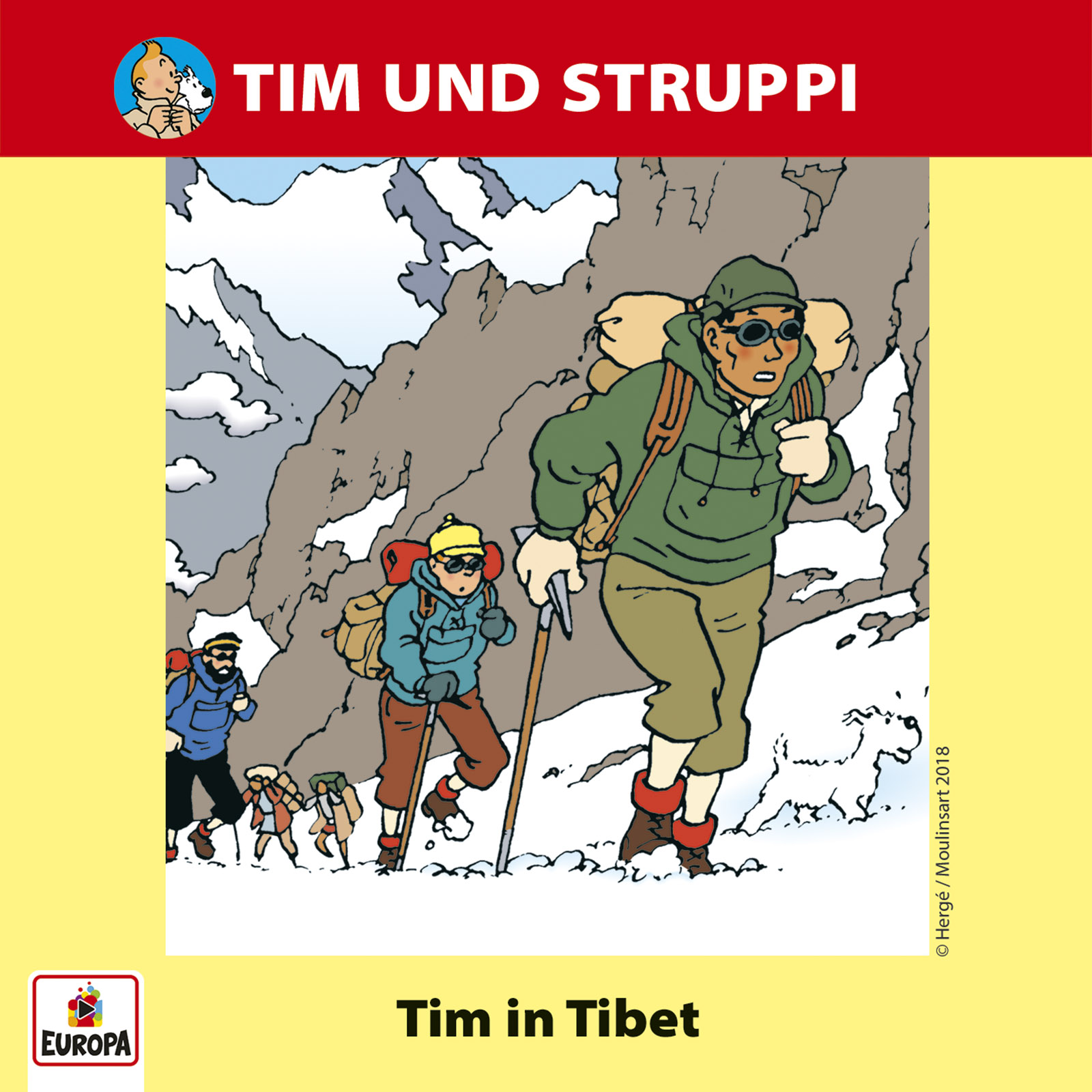 Tim & Struppi: Tim in Tibet