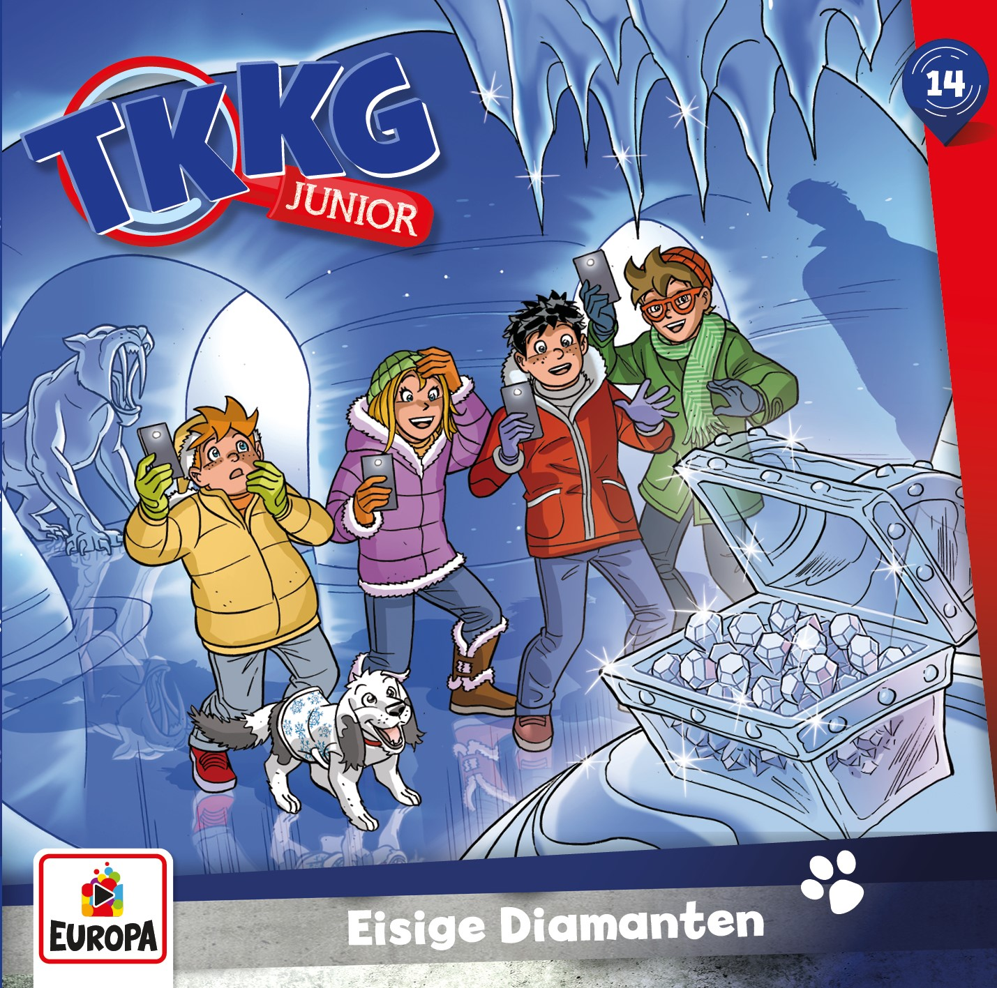 TKKG Junior: Eisige Diamenten