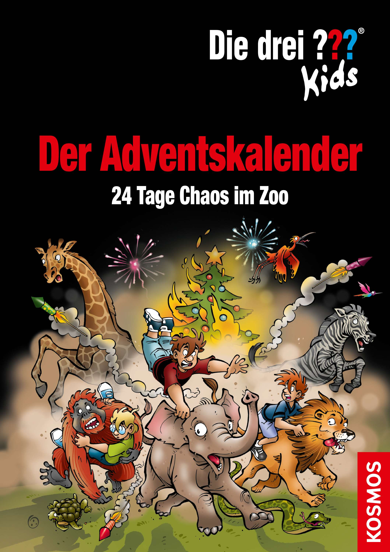 Die drei ??? Kids - Der Adventskalender - 24 Tage Chaos im Zoo