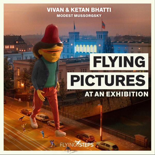 Vivan & Ketan  Bhatti - Flying Pictures at an Exhibition