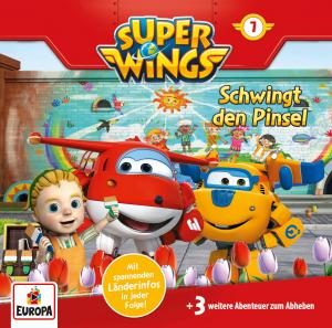 Super Wings: Schwingt die Pinsel