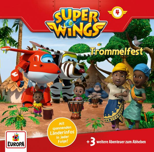 Super Wings - Trommelfest