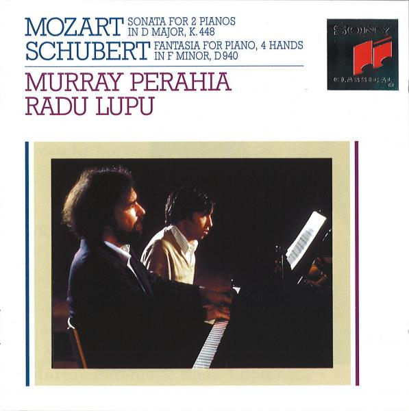Perahia - Mozart: Sonata for 2 Pianos in D Major, K. 448 - Schubert: Fantasie in F Minor, Op. 103, D. 940