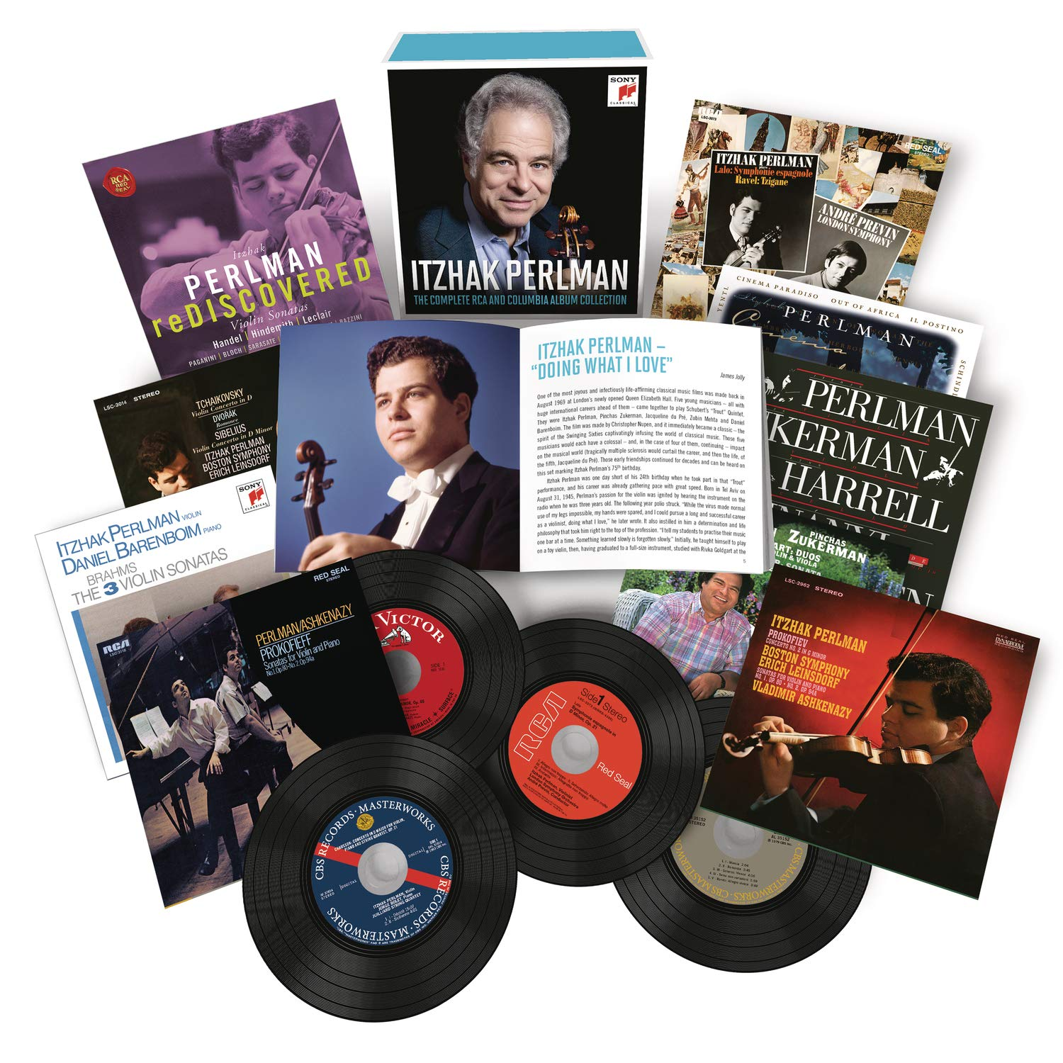 Itzhak Perlman - Itzhak Perlman - The Complete RCA and Columbia Album Collection