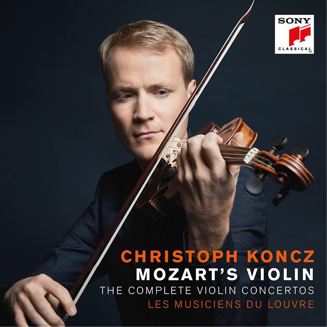 Christoph Koncz - Mozart's Violin - The Complete Violin Concertos Mozart's  Violin - The Complete Violin Concertos   CD