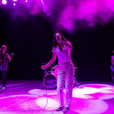 Audrey Mika in ihrer Live-Show.