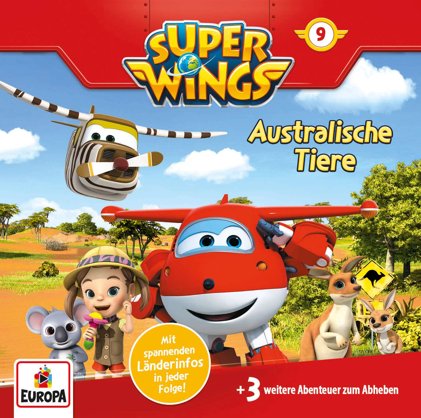 Super Wings - Australische Tiere