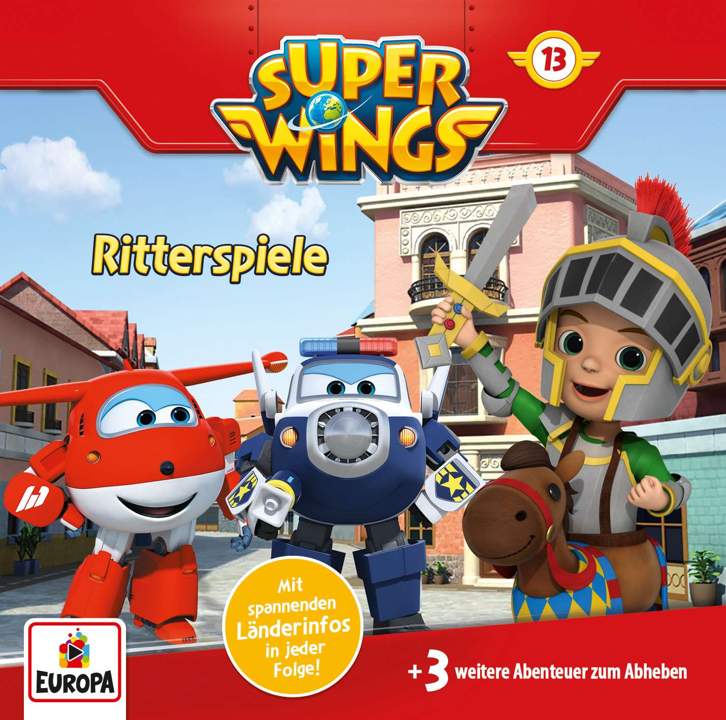 Super Wings - Ritterspiele