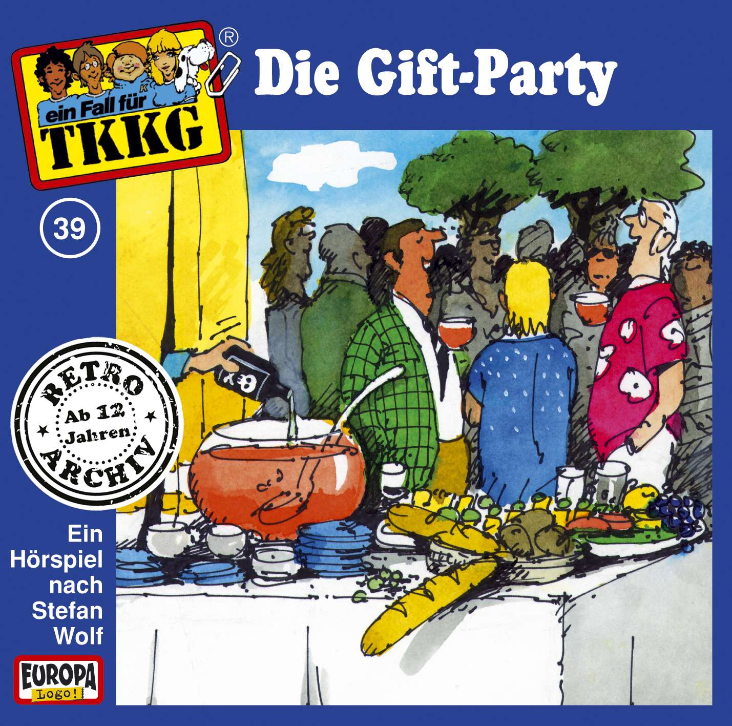 TKKG Retro-Archiv: Die Gift-Party