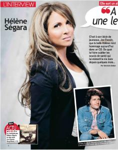 Hélène Ségara dans Nous deux