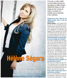 Hélène Ségara dans Télé Poche