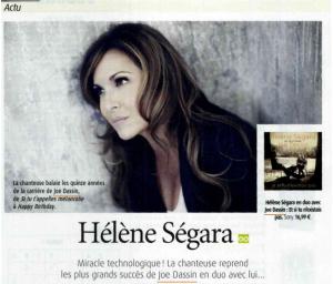Hélène Ségara dans TV envie