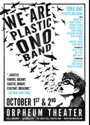 We Are Plastic Ono Band concert