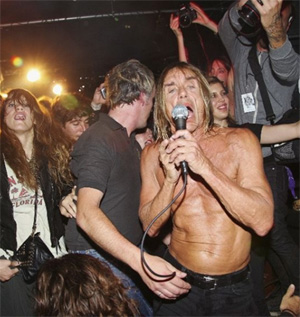 Iggy and the Stooges at Fashion's Night Out
