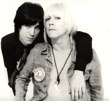 James Williamson and Iggy Pop