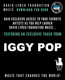 Iggy Pop and David Lynch Foundation