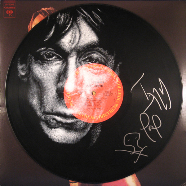 Iggy Pop Vinyl Artwork