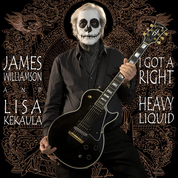 James Williamson I Got A Right/Heavy Liquid Vinyl Single
