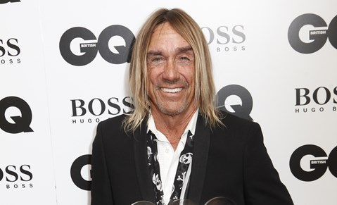 Iggy Pop at GQ Men Of The Year Awards 2014