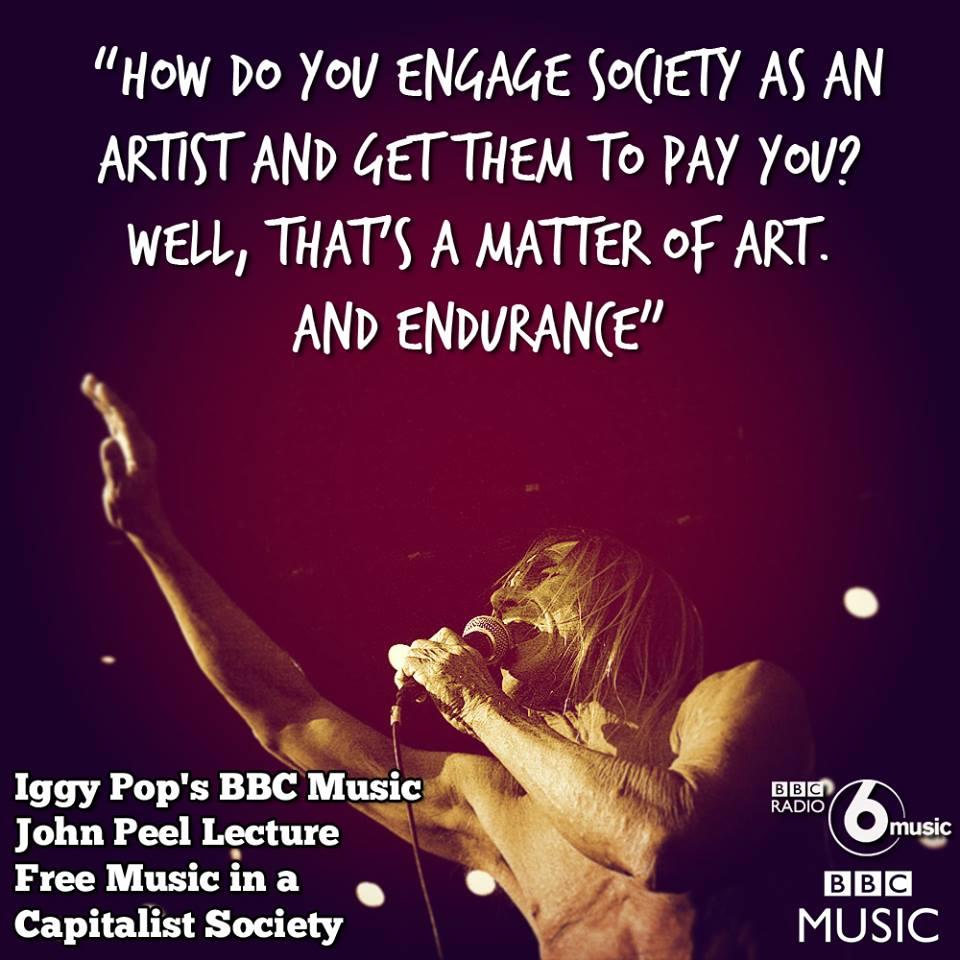 Iggy Pop - John Peel Lecture
