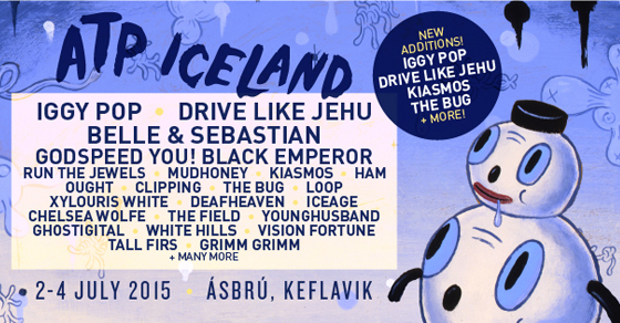 Iggy Pop To Perform At All Tomorrow's Parties Iceland In July 2015