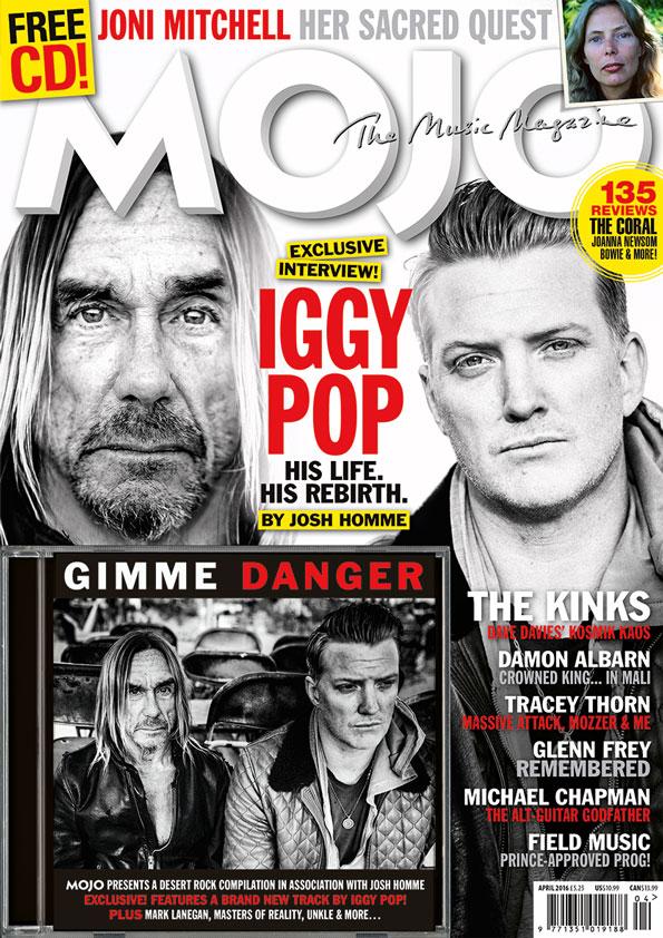 MOJO April 2016 cover story