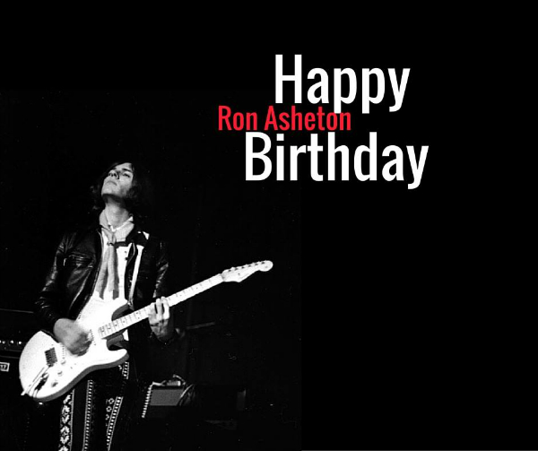 Happy Birthday Ron Asheton