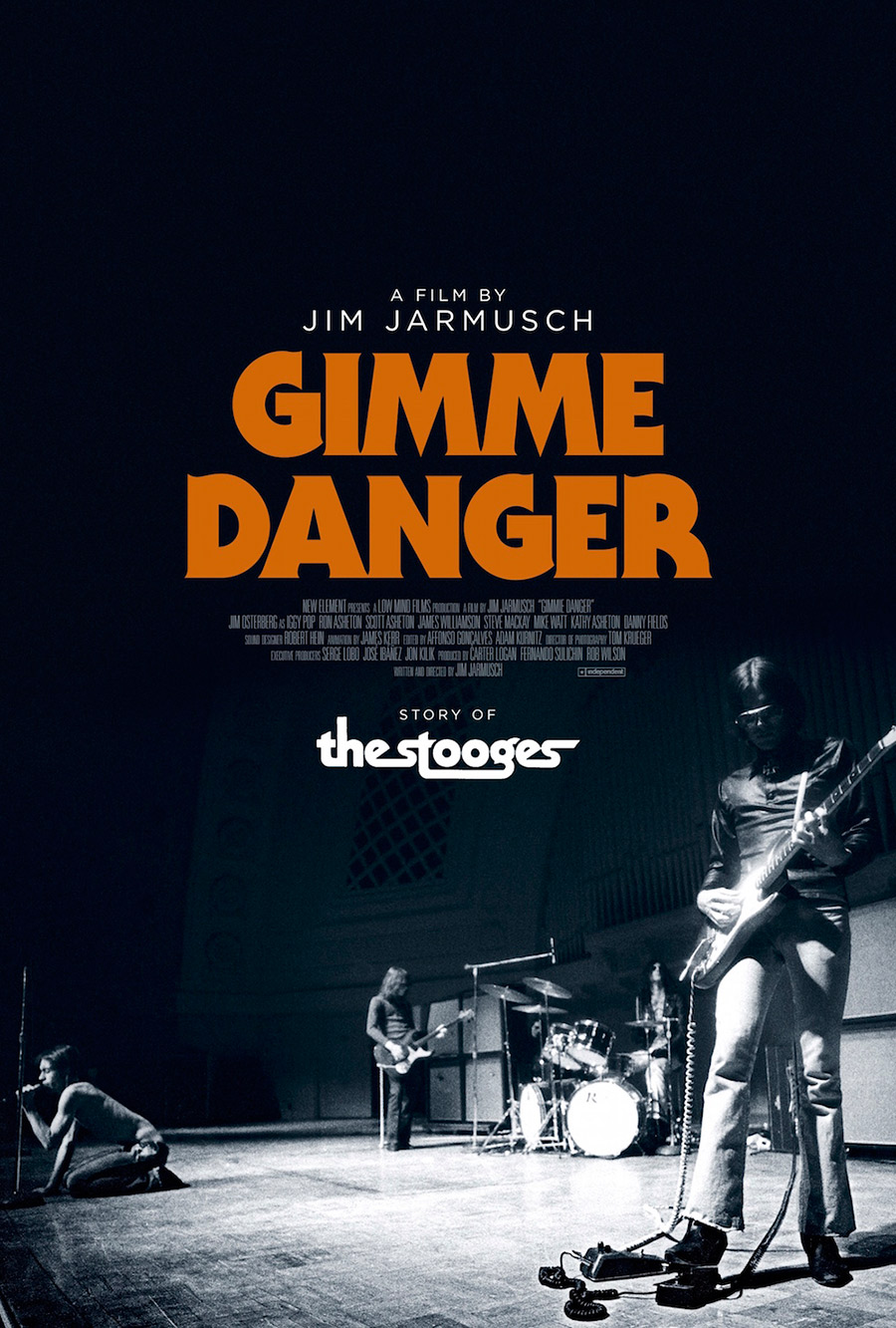 Gimme Danger documentary movie poster