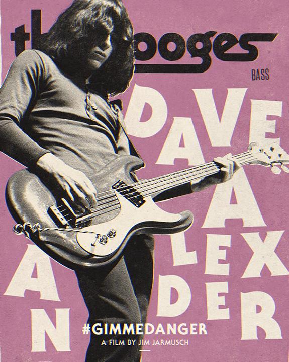 Gimme Danger documentary - Dave Alexander