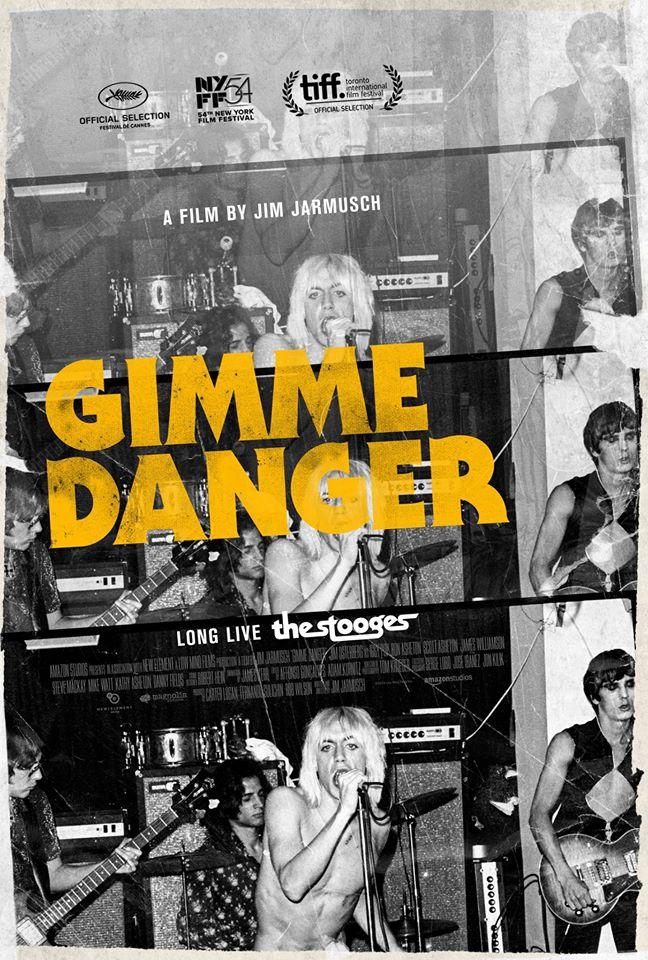 Gimme Danger documentary alternate poster