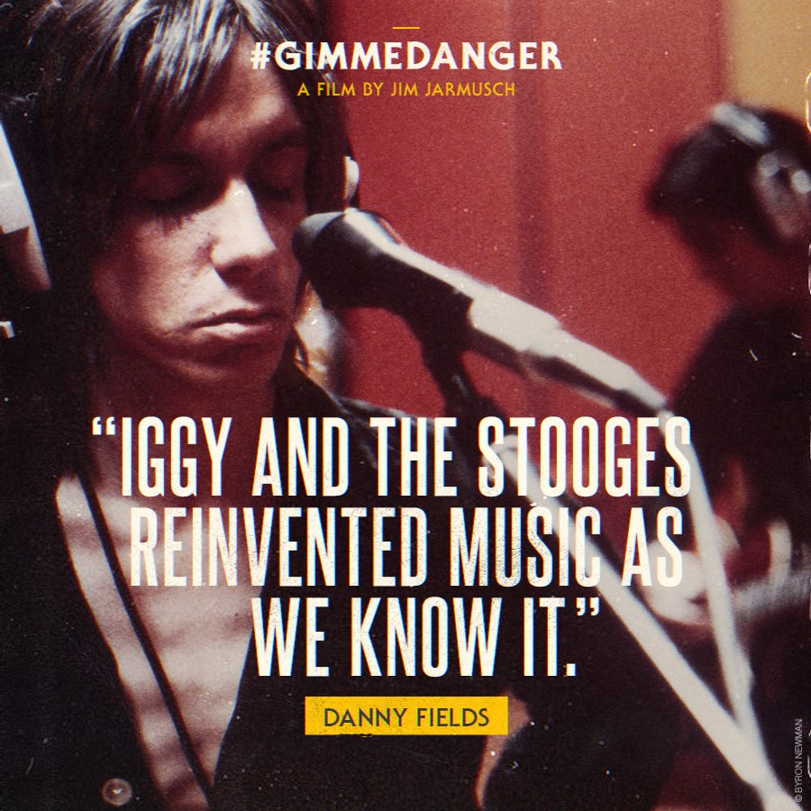 Gimme Danger documentary quote poster