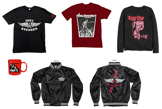 Iggy and the Stooges merch shop