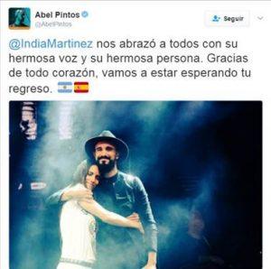 India Martínez triunfa en Argentina