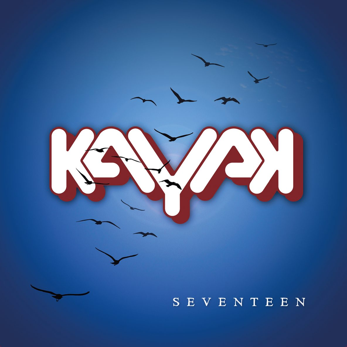 17001 GlassVille Music Kayak Seventeen LP cover inslag