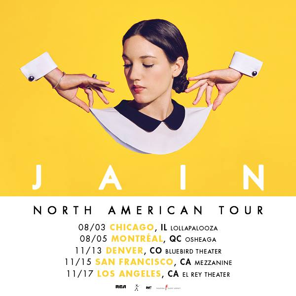North American tour – new gigs announced !