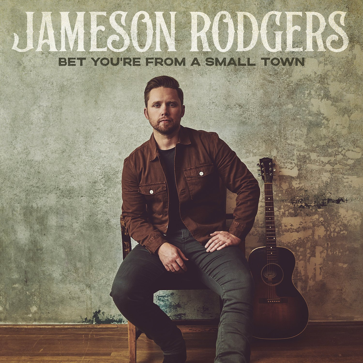 Debut Album<br>BET YOU'RE FROM A SMALL TOWN<br>Out Now cover